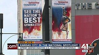 Kansas City in the national spotlight for gymnastics