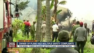 Cuba plane crash