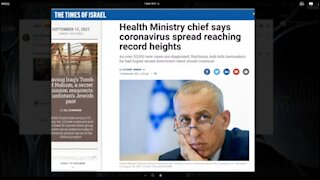 Why Is Israel Experiencing Record Covid Cases -- With 3 Doses of The Vaccine?