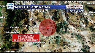 6.4 magnitude earthquake felt in southern Nevada