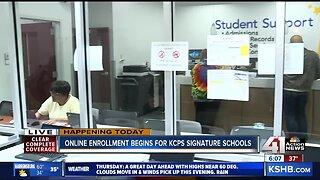 Online enrollment begins for KCPS signature schools
