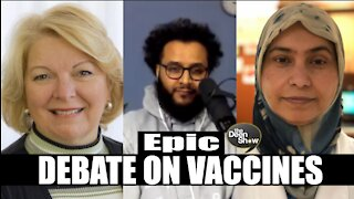 TheDeenShow #833 - Epic Vaccine Debate with Mohammad Hijab