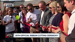 Woodward Dream Cruise ribbon cutting