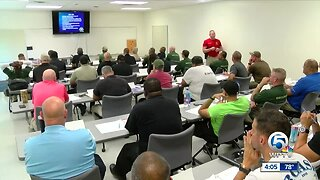 Palm Beach County charter school security guards training underway