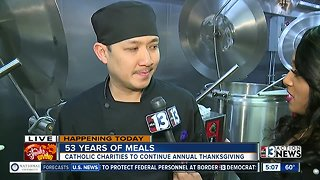 Catholic Charities feeding thousands