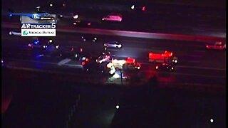 Multi-vehicle crash on I-480 westbound near Ridge Road closes right lanes