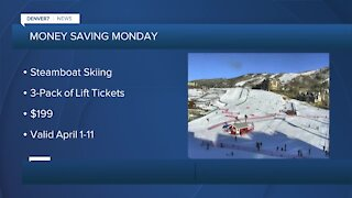 Money Saving Monday: Steamboat lift ticket deal