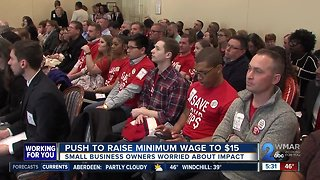 Small business owners concerned about minimum wage hike