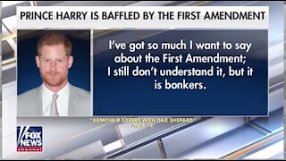 1428-Prince Harry slams first amendment during podcast appearance