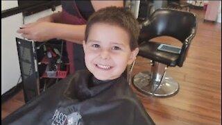 Barbershop Haircut Noah's First Barbershop Haircut