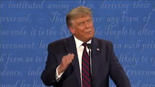 Charles Benson reacts to first presidential debate