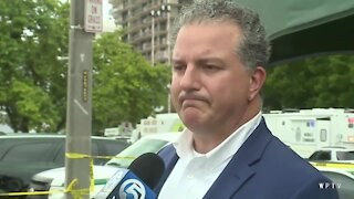 Jimmy Patronis gets emotional speaking about 'amazing heroes' risking their lives to help after Surfside condo collapse