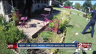 Body cam video shows officer involved shooting