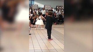 Little Boy Gets in the Groove!