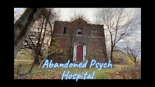 Abandoned Psychiatric Hospital Grounds East Side walkaround