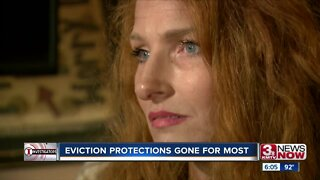 For most, eviction protections have expired