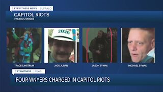 Four WNYers charged in Capitol Riots
