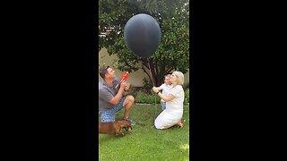Gender Reveal Balloon Fail