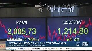 Economic impact of coronavirus