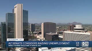 Arizona senate considers raising unemployment