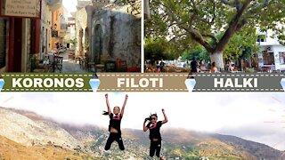 NAXOS (Greece): Episode 4 - Koronos, Filoti, and Halki (Chalki) Villages