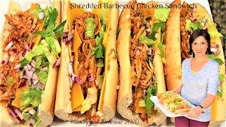 Best Shredded Barbecue Chicken Sandwich