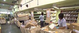 U.S. Postal Service says pandemic threatens its survival
