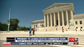 Biden plans to reveal Supreme Court commission plans
