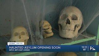 Haunted Asylum Opens on Halloween