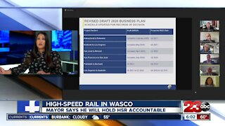 Wasco mayor speaks at HSR board meeting about impact of project