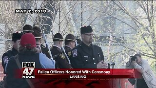 Memorial for Ingham County officers Tuesday morning