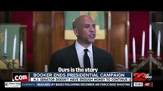 Cory Booker ends presidential campaign