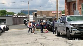Firefighter union shows support for police after shootings