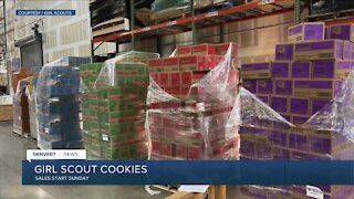 Girl Scout cookie sales start Sunday