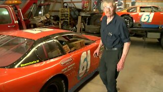 77-year-old makes racing history at Slinger Speedway