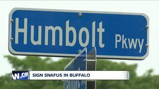 Misspelled street sign raises questions