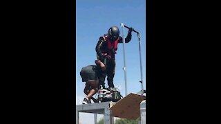 Hoverboard flight