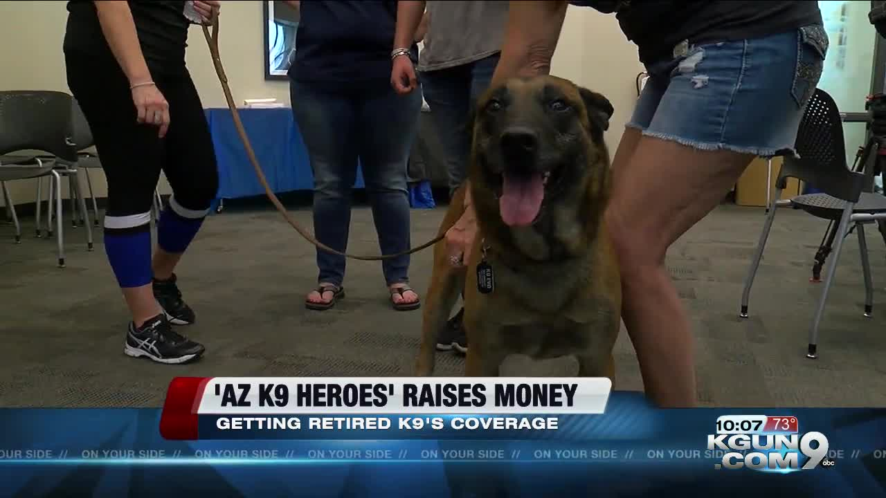 Local non-profit organization helps K9's after retirement