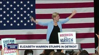 Elizabeth Warren stumps in Detroit