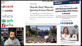 FAKE NEWS Goes Into FULL 1984-MODE | 'There Is No Fraud In Maricopa'