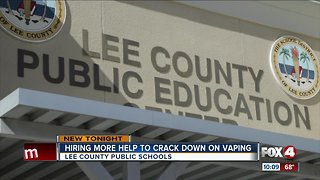 Lee County Schools to hire more security to crack down on vaping