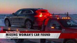 Car of missing Cass County woman found in Otoe County (Courtesy: News Channel Nebraska)