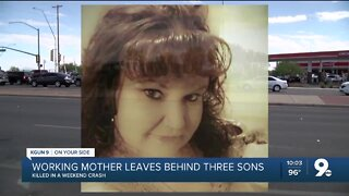 Tucson mother of three killed in weekend crash