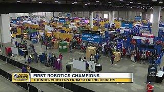 FIRST Robotics Championship Winners