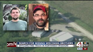 Police search northwest Missouri cattle farm for missing Wisconsin brothers