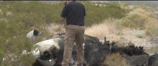 Plane makes emergency landing on US 95