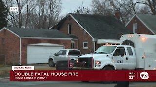 Two people killed in fire on Detroit's west side