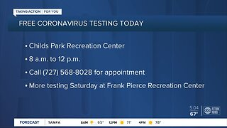2 free COVID-19 testing events taking place in Pinellas County, appointment required