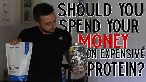 Cheap Vs. Expensive Protein Powder