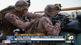 Local Marines among troops keeping US embassy in Baghdad safe